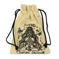 Large Chakra Crystal Palm Stones Gift Pouch Set