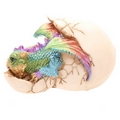 Colourful Baby Dragon Hatching From Its Jewel Encrusted Egg  (Collectable)
