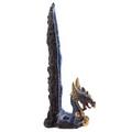 Fantasy Dragon Geode Crystal Upright Incense Stick Burner