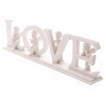 White LOVE Cherub Letters