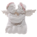 Decorative Rose Angel Cherubs Couple Figurine