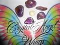 Ametrine Crystal large Tumblestones  (citrine & amethyst mix)