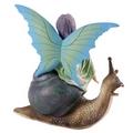Enchanted Fairies Figurine - Riding Snail