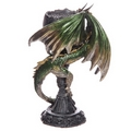 Skull Goblet Dark Legends Dragon Figurine