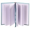Hardback A6 Lined Notebook - Fun Hummingbird Pattern