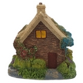 Forest Fairy Thatched Roof Wooden House