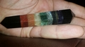 Sacred Chakra Crystal Vogel Wand Healing Point