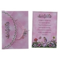 Magical Fairyland Beaded Charm Bracelet and Fairy Envelope